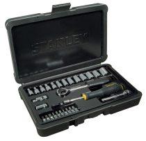 """28 részes 1/4"""" dugókulcs készlet  4-14 mm FK  STHT0-73931"""