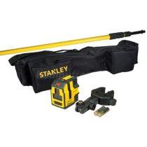Stanley Cross90 keresztsugaras szintező állvánnyal (STHT1-77147)