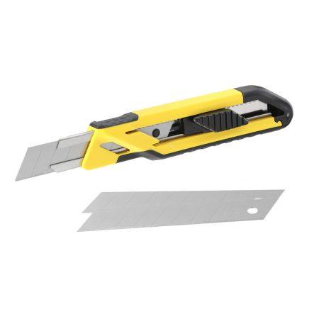 Stanley fém megvezetéses 18 mm tördelhető pengés kés(STHT10266-1)