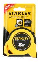 Stanley White gumírozott mérőszalag 5m×19mm (STHT30141-8)