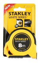 Stanley White gumírozott mérőszalag 8m×25mm (STHT30141-8) KIFUTÓ