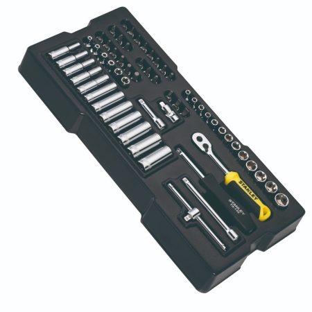 Stanley Transmodule rendszer 60 részes 1/4 dugókulcs készlet (STMT1-74175)