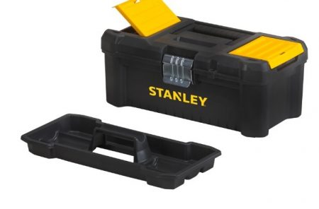 """Stanley 16"""" Szerszámosláda csavartartóval, fémcsatos (STST1-75518)"""