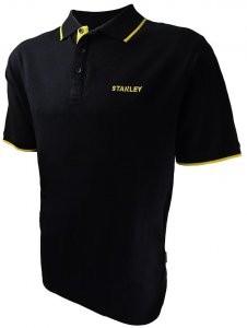 Stanley Texas galléros fekete póló SXWG-102-E