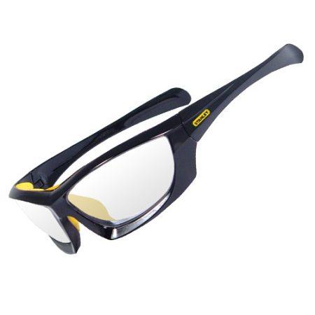 Stanley Keretes védőszemüveg szürke lencsévél (SY180-2D)